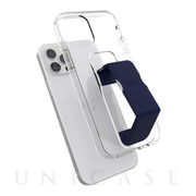 【iPhone12/12 Pro ケース】Gripcase Clear (clear/blue)