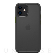 【iPhone12 mini ケース】Color Brick (Black)