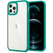 【iPhone12/12 Pro ケース】Crystal Hybrid (Mint)