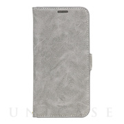 【iPhone12 Pro Max ケース】手帳型ケース Style Natural (Gray)