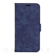 【iPhone12 Pro Max ケース】手帳型ケース Style Natural (Blue)