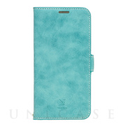 【iPhone12 Pro Max ケース】手帳型ケース Style Natural (Turquoise)