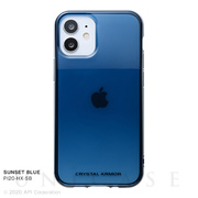 【iPhone12 mini ケース】HEXAGON (SUNSET BLUE)