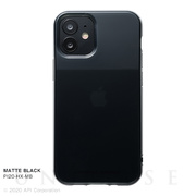 【iPhone12 mini ケース】HEXAGON (MATTE BLACK)