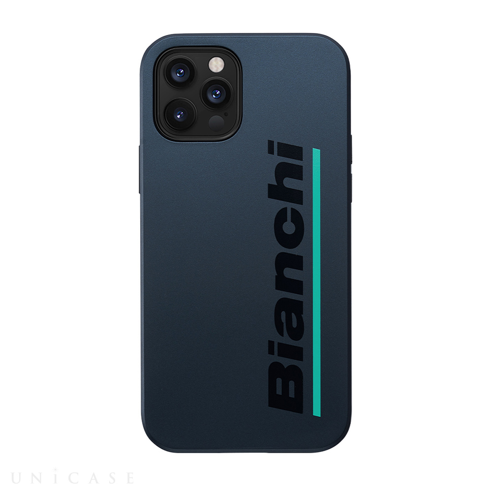 【iPhone12/12 Pro ケース】Bianchi Hybrid Shockproof Case for iPhone12/12 Pro (steel black)
