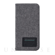 【iPhone12/12 Pro ケース】Bianchi Water Repellent Folio Case for iPhone12/12 Pro (gray)