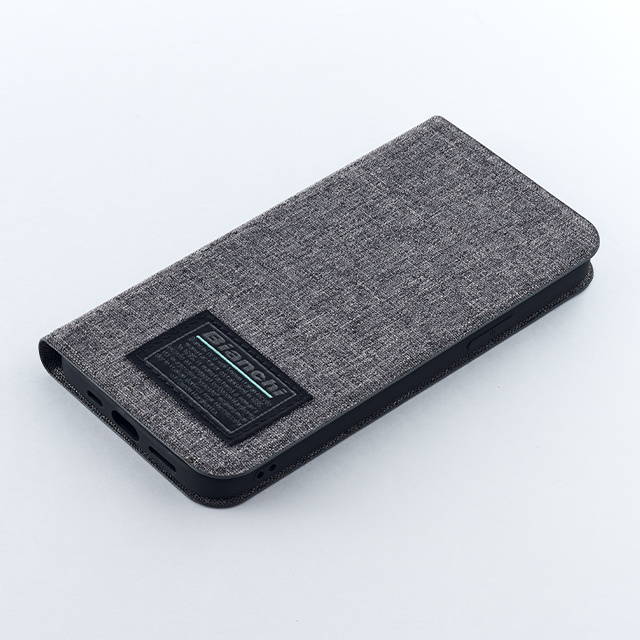 【iPhone12/12 Pro ケース】Bianchi Water Repellent Folio Case for iPhone12/12 Pro (gray)goods_nameサブ画像