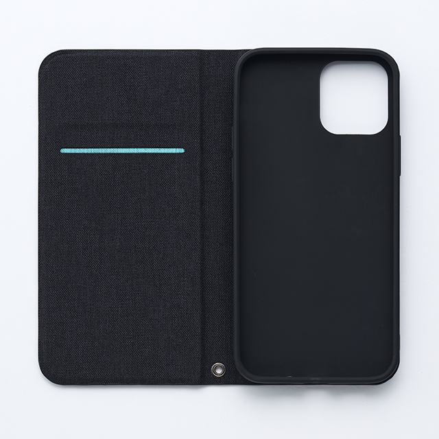 【iPhone12 mini ケース】Bianchi Water Repellent Folio Case for iPhone12 mini (black)サブ画像