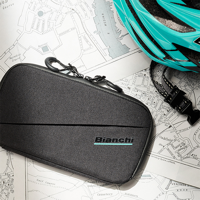 Bianchi Water Repellent Smartphone Pouch (black)サブ画像