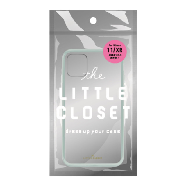 【iPhone11/XR ケース】LITTLE CLOSET iPhone case (ICE-GREEN)