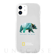 【iPhone12 mini ケース】Into the Wild Jell-hard Case (Bear)
