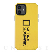 【iPhone12 mini ケース】Sandy Case (Big Logo) Yellow