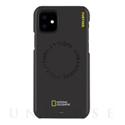 【iPhone12 mini ケース】Explore Further Edition Slim Fit Case (Black)