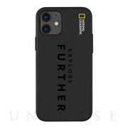 【iPhone12 mini ケース】Explore Further Edition Soft Case (Black)