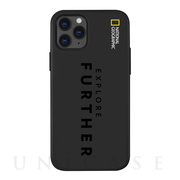 【iPhone12/12 Pro ケース】Explore Further Edition Soft Case (Black)