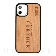 【iPhone12 mini ケース】Nature Wood Carving Case (Futher Edition)
