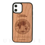 【iPhone12 mini ケース】Nature Wood Carving Case (Cherrywood)