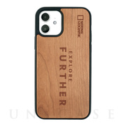 【iPhone12/12 Pro ケース】Nature Wood Carving Case (Futher Edition)