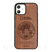 【iPhone12/12 Pro ケース】Nature Wood Carving Case (Rosewood)