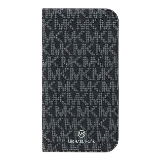 【iPhone12/12 Pro ケース】FOLIO CASE SIGNATURE with TASSEL CHARM (Black White)サブ画像