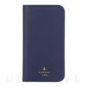 【iPhone12 mini ケース】FOLIO CASE CLASSIC (Dark Navy)