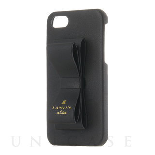 【iPhoneSE(第2世代)/8/7 ケース】SLIM WRAP CASE STAND & RING RIBBON (Black)