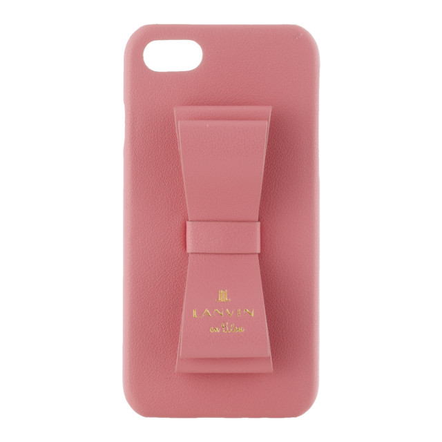 【iPhoneSE(第2世代)/8/7 ケース】SLIM WRAP CASE STAND & RING RIBBON (Coral Pink)サブ画像