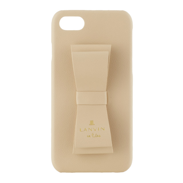 【iPhoneSE(第2世代)/8/7 ケース】SLIM WRAP CASE STAND & RING RIBBON (Beige)サブ画像