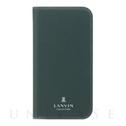 【iPhoneSE(第2世代)/8/7 ケース】FOLIO CASE SAFFIANO (Dark Green)