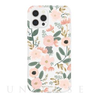 【iPhone12/12 Pro ケース】RIFLE PAPER CO. 抗菌・耐衝撃ケース (Wild Flowers)