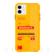 【iPhone12 mini ケース】Kodak 耐衝撃ケース (Vintage Yellow)