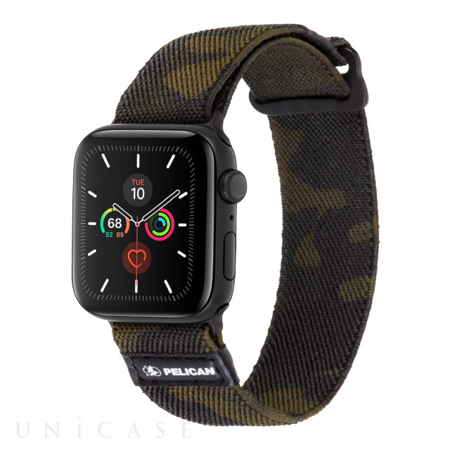 【AppleWatch SE/Series6/5/4/3/2/1(44/42mm) バンド】ウォッチバンド Protector Band (Camo Green)