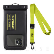 【スマホポーチ】防水ポーチ Marine Waterproof Floating Pouch for Universal Max 6.5 inch (Black/Lime Green)