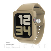 【AppleWatch SE/Series6/5/4(44mm) ケース】TILE Apple Watch Band Case (BEIGE)