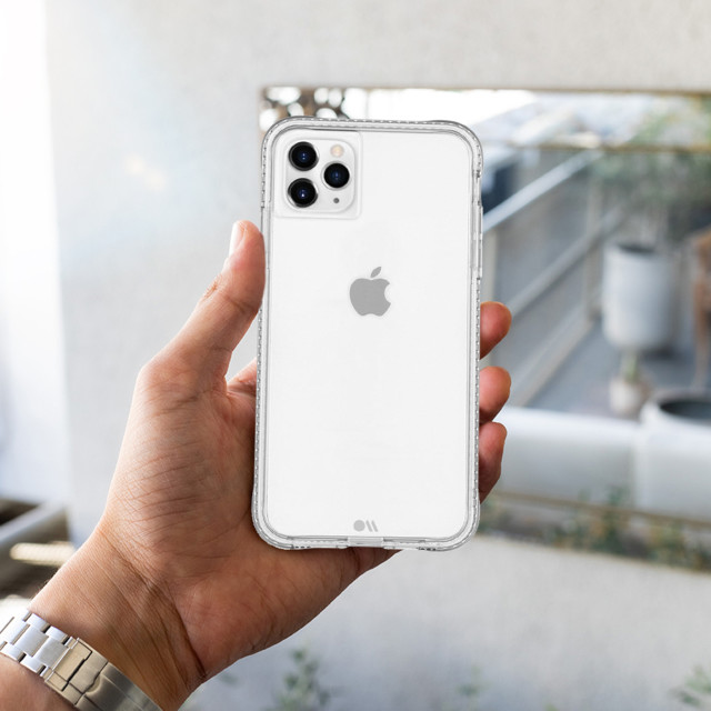 【iPhone11 Pro Max/XS Max ケース】抗菌・4.5m落下耐衝撃ケース Tough Clear Plusサブ画像