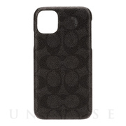 【iPhone12 Pro Max ケース】Slim Wrap Case (Signature C Black)