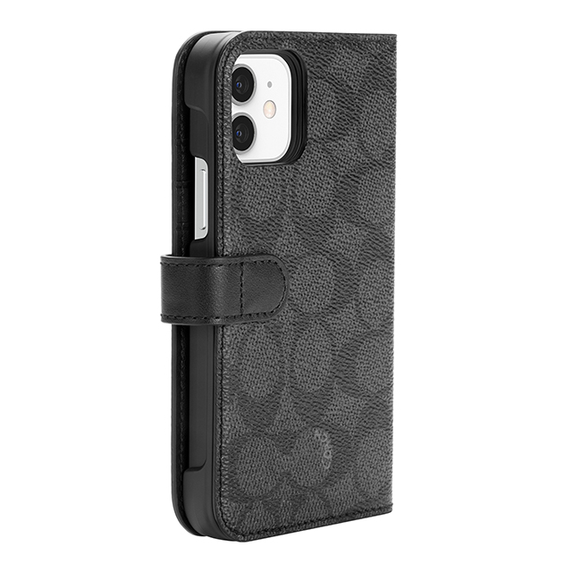 【iPhone12/12 Pro ケース】Folio Case (Signature C Black)サブ画像