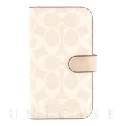 【iPhone12 mini ケース】Folio Case (Signature C Sand)