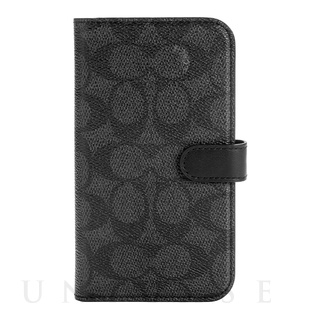【iPhone12/12 Pro ケース】Folio Case (Signature C Black)