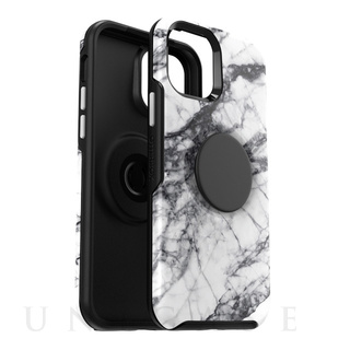 OtterBox(オッタ―ボックス) 【iPhone12/12 Pro ケース】Otter + Pop Symmetry Graphics Series (WHITE MARBLE)