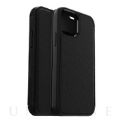 【iPhone12/12 Pro ケース】Symmetry Leather Folio Series (SHADOW)