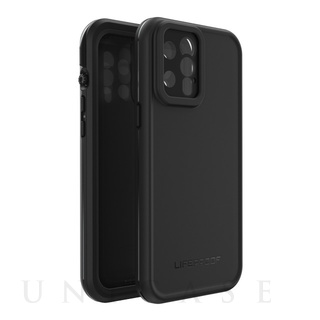 【iPhone12 Pro Max ケース】FRE Series (BLACK)