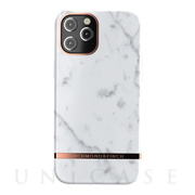 【iPhone12 Pro Max ケース】Freedom Case (White Marble)