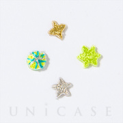 AIUEO APPLIQUE ひらがな (star)