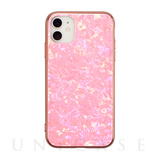 【アウトレット】【iPhone11/XR ケース】Glass Shell Case for iPhone11 (pink)