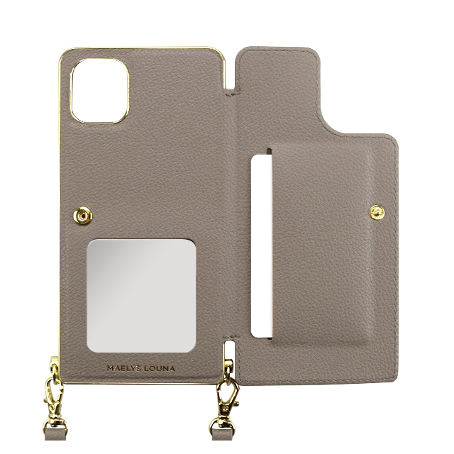【アウトレット】【iPhone11/XR ケース】Cross Body Case for iPhone11 (gray)サブ画像