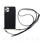 【アウトレット】【iPhone11 Pro ケース】Cross Body Case for iPhone11 Pro (black)
