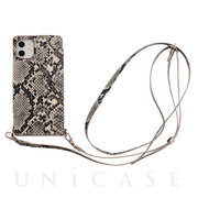 【アウトレット】【iPhone11/XR ケース】Cross Body Case Animal Series for iPhone11(python)
