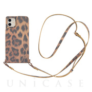 【アウトレット】【iPhone11/XR ケース】Cross Body Case Animal Series for iPhone11(leopard)