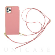【アウトレット】【iPhone11 Pro ケース】Cross Body Case for iPhone11 Pro (pink)
